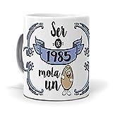 mundohuevo Taza Ser de 1985 Mola un Huevo