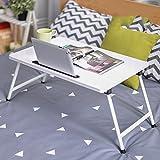 Anjcd Falttische Notizbuch Computer Schreibtische Bett Gebrauch Lerntisch Kleiner Tisch ( Farbe : 6# )