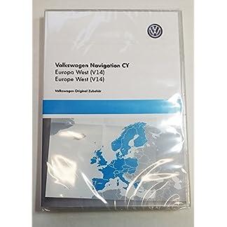 Original-2017-Navigation-DVD-ROM-CY-1T0-919-859-B-Europa-West-V14-Karte-fr-RNS-510-RNS-810-Kartenmaterial