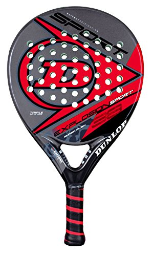 Dunlop Explosion Sport - Pala de pádel, color rojo / negro