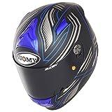 Suomy KSSR0007.4 Casco Moto, Azzurro, M