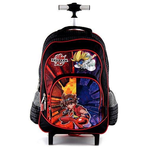 Bakugan 10-5379 Children's Backpack, Black/Orange