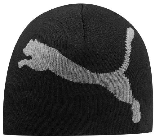 PUMA Mütze Big Cat Beanie, black-steel grey, 842925 01 (Cat Puma Big)