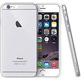 iPhone 6S Hülle - iHarbort® iPhone 6/ 6S Schutzhülle Case Cover Stoßstange-Abdeckung mit Stoßdämpfung Stoßstange und Antikratzer transparente Rückseite mit Displayschutzfolie (Transparent)