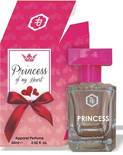 THE PRINCESS OF MY HEART 60ML ( WORLDS MOST ATTRACTIVE FRAGRANCE ONLY FOR WOMEN ) By Parag Fragrances very long lasting perfume for women , very attractve box packing with cristal glass bottel ideal f