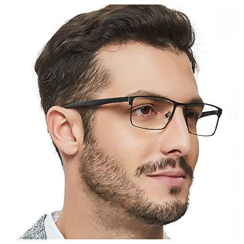 OCCI CHIARI Blaulichtfilter Computerbrille für Herren, rechteckige Brillen