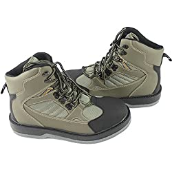 KyleBooker Fly Waders Waders Boot zapatos impermeables y transpirables Caza al aire libre antideslizante Wading Boots KBFSAA