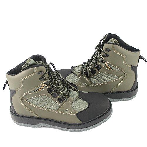 KyleBooker Fliegenfischen Wathosen Stiefel Atmungsaktive Wasserdichte Schuhe Outdoor Jagd Rutschfeste Watschuhe KBFSAA