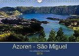 Azoren - São Miguel (Wandkalender 2018 DIN A4 quer): Azoren - São Miguel - unbekannte Perle im Atlantik (Monatskalende