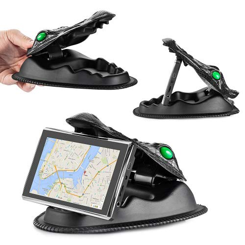 GPS-Halterung Universal Smartphone nicht rutschend Armaturenbrett GPS-Halterung für Garmin, Nuvi, TomTom, Via Go und andere Smartphones und GPS (passend für alle GPS mit 3,5/ 4,3 /5/ 6/ 7 Zoll)