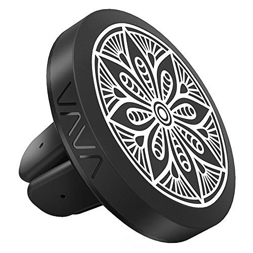 VAVA Handyhalterung Auto Magnet Lüftung KFZ Halterung Universal für iPhone 7 / 6s / 6 / 5s / 5, Galaxy S6 S7 S8 und andere Smartphones oder GPS-Geräte (inkl. 2 Metallplatten) -