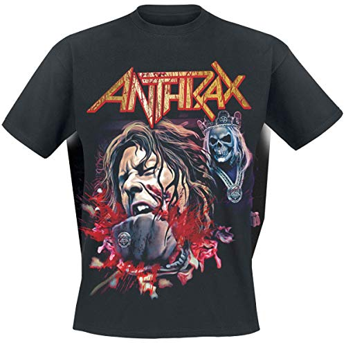 Anthrax Fist Full Halloween T-Shirt schwarz XL