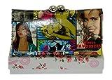 Girly HandBags Neu Mode Lackleder Magazine drucken Brieftasche Geldbörse Zeitung Abschlussball Hochglanz Verpackt Geschenk