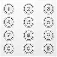 Ritto 1876420 Concierge System Encoding Module Silver