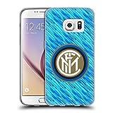Head Case Designs Ufficiale Inter Milan Glitch 2018/19 Crest Cover in Morbido Gel Compatibile con Samsung Galaxy S7