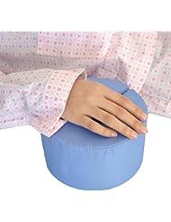 HHORD Cama del paciente Uso del tobillo redondo esponja antiescaras mano del cojín del pie Para paciente encamado (AZUL) Un Par , blue one pair