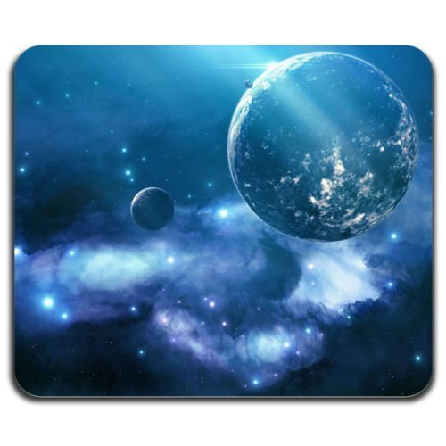 blue-galaxy-beautiful-sky-planet-moon-stars-universe-space-mouse-pad