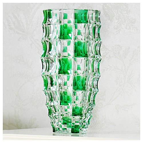 Vase Jardiniere Transparentes Glas Rich Bamboo Lily Wasserkultur Blumen Arrangement Europäischen Stil Moderne Zeitgenössische Wohnzimmer Dekoration Schreibtisch Dekoration für Schlafzimmer Wohnzimmer -
