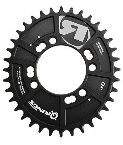 rotor-c01-019-25020-dichtungsstreifen-a-0-tablett-fur-fahrrad-unisex-erwachsene-schwarz