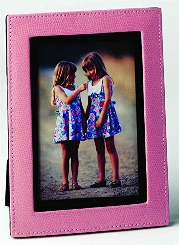 4-x-6-lizard-print-calf-photo-frame-pink-by-budd-leather