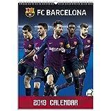 1art1® Football Poster Calendrier - FC Barcelona, Calendrier Officiel 2019 (42 x 30 cm)