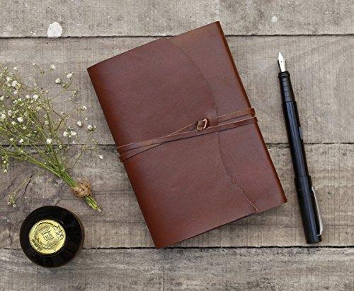 valentin-regalos-diario-de-cuero-diario-plain-marron-cuaderno-de-viaje-blank-handmade-papeles-con-ti