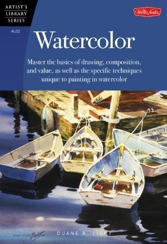 Watercolor (Artist's Library series #02) by Duane R. Light published by Walter Foster (1984)