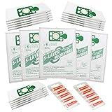 Qualtex Numatic Henry Hetty Hoover Filter FLO Staubbeutel und 5 Lufterfrischer, Packung mit 20-Weiß