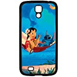 S4 i9000 Funda,Excellent Protection,Provides protection and prevents scratches,pc black Funda for samsung S4 i9000,Lilo and Stitch JZZDEJZW017941