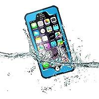 Forepin® 10 colori Custodia Waterproof Impermeabile Protezione Case Cover per iPhone 6 6s Plus 5.5