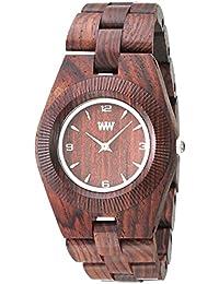 Wewood Holzuhr Odyssey brown aus Zürgelbaum Damenuhr 100% NATURAL WOOD
