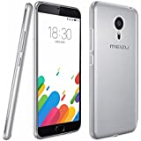 "FUNDA de GEL TPU FINA ""ULTRA-THIN"" 0,3mm TRANSPARENTE para MEIZU METAL"