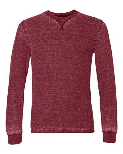 Mens Long Sleeve Thermal Tee (J. America–Vintage Zen Thermal Long Sleeve T-Shirt Gr. XX-Large, Simply Red)