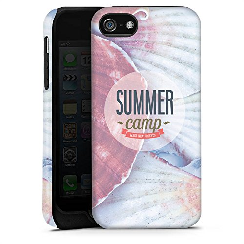 Apple iPhone X Silikon Hülle Case Schutzhülle Sommer Urlaub Springbreak Tough Case matt