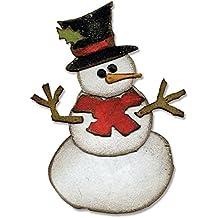 Bigz Fustella - Pupazzo di Neve di Tim Holtz