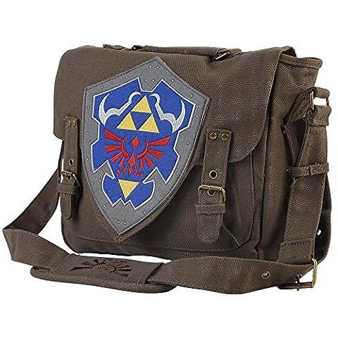 Zelda Brown Link Shield Original Tasche in Braun aus 100% Polyester