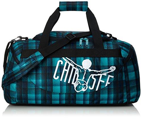 Chiemsee Reisetasche Sporttasche Matchbag Medium, schöne leichte trendige Reisetasche/Freizeittasche mit Schuhfach Checky Chan Blue