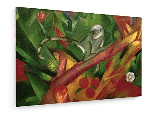 franz-marc-pequeo-mono-1912-120x80-cm-weewado-impresiones-sobre-lienzo-muro-de-arte-antiguos-maestro