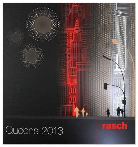 Tapete 796162 rasch tapeten queens 2013 violett grau wei for Tapeten von rasch