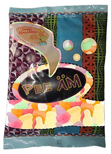 Deine Naschbox - Belgisches Fruchtgummi Konfetti ohne Zucker - in unserem 150g Beutel