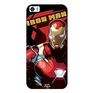 Hamee Marvel Civil War Captain America Iron Man Licensed Hard Back Case Cover For iPhone 7 Cover - Design 29
