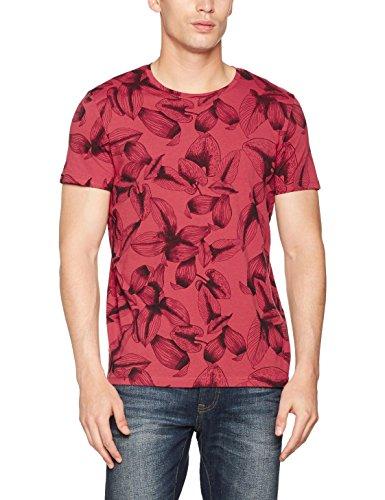 Esprit-057ee2k018-Camiseta-para-Hombre-Rojo-Coral-Red-X-Large