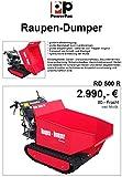 Motorschubkarre Powerpac RD500R Raupendumper - 6