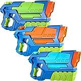 JOYIN 3 in 1 Medium Size Water Blaster High Capacity Water Gun Super Water Soaker Blaster Squirt Toy Swimming Pool Beach Sand Water Fighting Toy