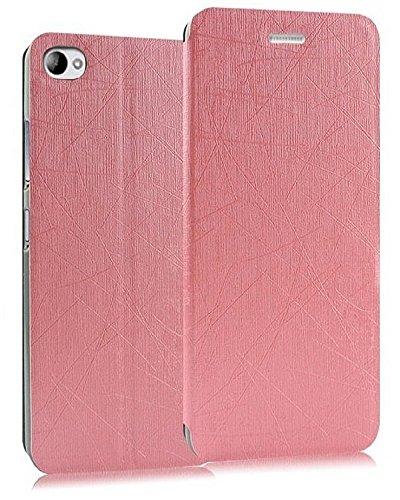 Heartly Premium Luxury PU Leather Flip Stand Back Case Cover For Xiaomi Miui Mi 4i Dual Sim - Cute Pink