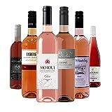 Alkoholfreie Roséweine im Probierpaket, Premium Kollektion Qualitätsweine Rosé ohne Alkohol - (6 x 0,75L)