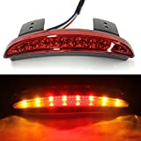 moto Fanale Posteriore Edge LED Posteriore Freno Stop Indicatore luce luci per Harley Sportster XL883 N 1200 N XL1200 V XL1200 x