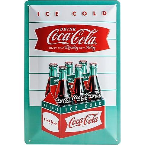 Nostalgic Art 22225 Coca-Cola Diner six Metal Sign 20 x 30 CM
