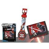 Set reloj digital billetera Star Wars