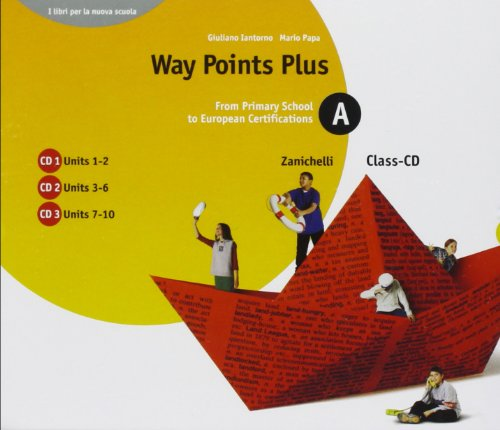 Way points plus. Yellow edition. 10 Cd Audio. Per le Scuole superiori